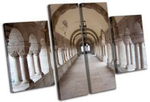 White Arch Corridor Architecture - 13-1084(00B)-MP17-LO